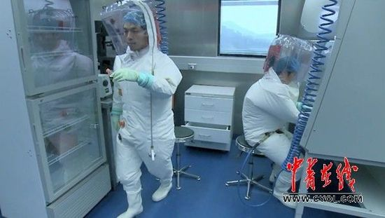 """中国建成亚洲首个P4实验室  可""""降伏""""埃博拉"""