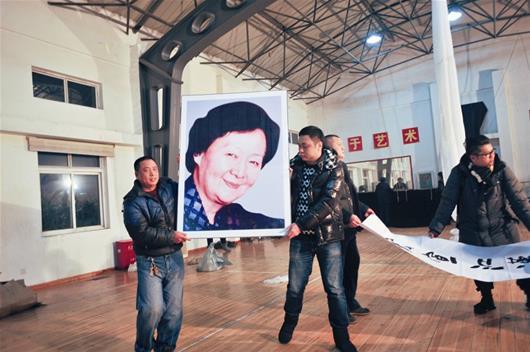 楚天金报讯 图为:陈伯华在汉剧《宇宙锋》中的扮相 (图片提供:武汉汉剧院)