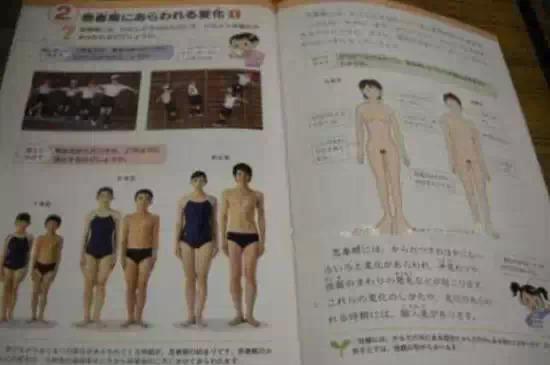 日本儿童性教育:露骨又大胆