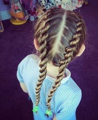 小女孩编发发型图解大全 步骤清晰的编发教程!