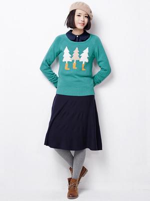 长裙宽松胸罩纯色宽松纯色毛衣卡通中衬衫纯生小女半身v长裙刚图片