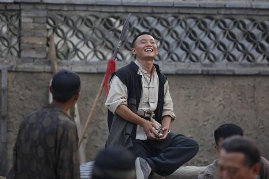 """演员谷智鑫_《大刀记》收视飘红 """"狗蛋""""冯玉玺活泼惹人爱-搜狐娱乐"""