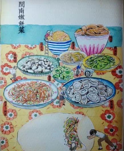 吃货版泉州美食,武林喜欢哪个呢?漫画银泰美食图片