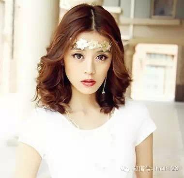 我不是故意吓你,中长女生不好好打理它,变丑哦发型斜刘海帅气图片