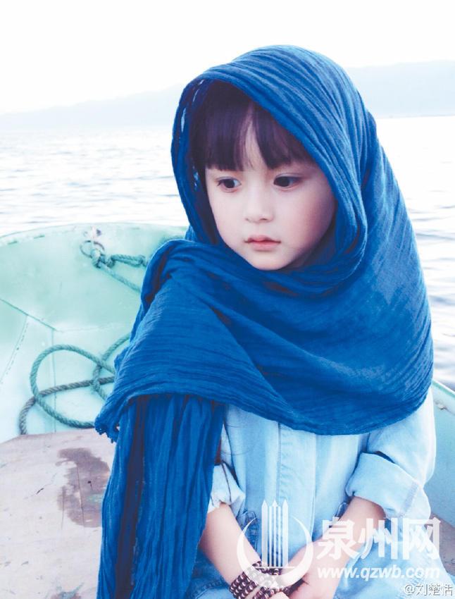 """""""全球最年轻美女""""是晋江娃 5岁演《芈月传》"""