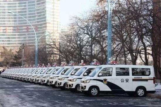 287辆一汽佳宝v80警务车 交付长春公安局-搜狐汽车