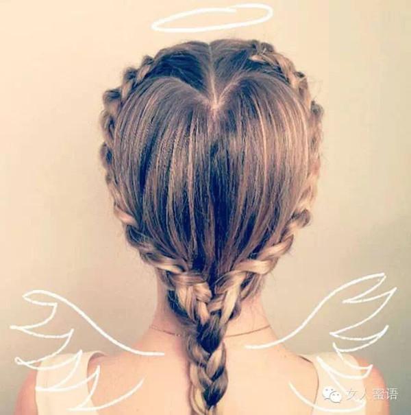 时尚 正文  在你的婚礼上,用这些微妙弧度拼成的心形盘发代替那些沉