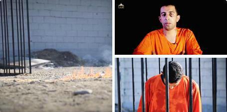 遭IS烧死 或处决女囚报复图片
