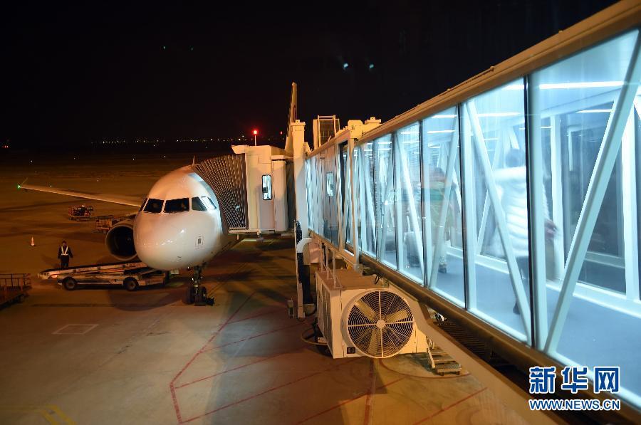 /兰州中川国际机场T2航站楼春运首日启用(组图)