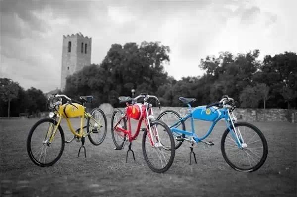 汽车 正文     oto cycles厂商生产制造的电动自行车带有强烈的复古