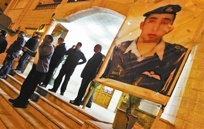约旦民众得知卡萨斯贝遇害消息