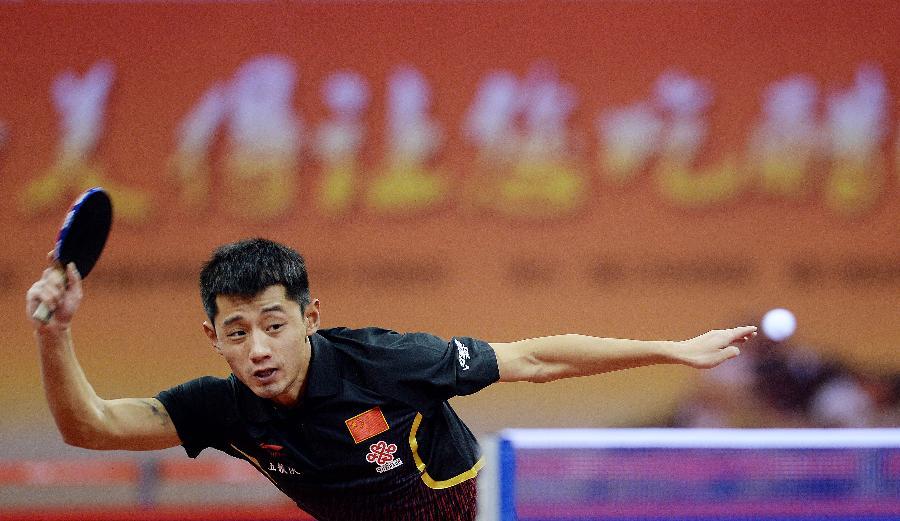 (女子)(5)乒乓球--马龙获得苏州世锦赛入场券(图体育跳蹦极无安全带图片
