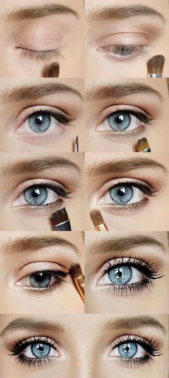 - Maquillage yeux nude ...