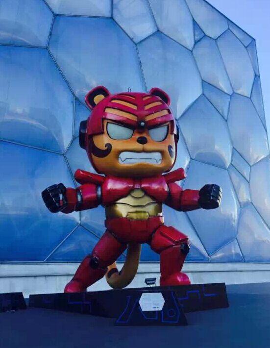 小虎可以成为能力强大的战士,把正能量传递给全世界,来自全球的创意图片