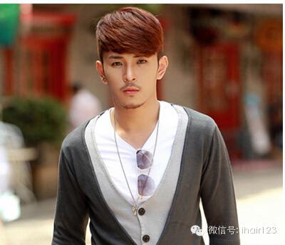帅男照片大全厚重的刘海是原年的形势所趋插图(27)