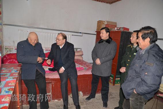 临猗县委书记赵惠民看望慰问困难群众和党员