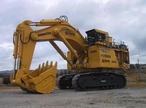 世界挖机9大帝王排位,国产最大的离第9名还差87吨