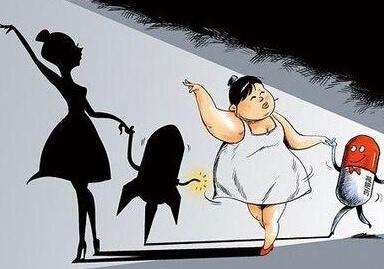吃减肥药的7个副作用,看了再吃男明星韩国减肥史图片