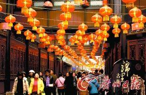 锦里庙会是成都最具代表性的庙会。