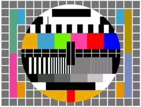 上世纪九十年代,每周二下午电视台都不播节目,打开电视都是这个画面.