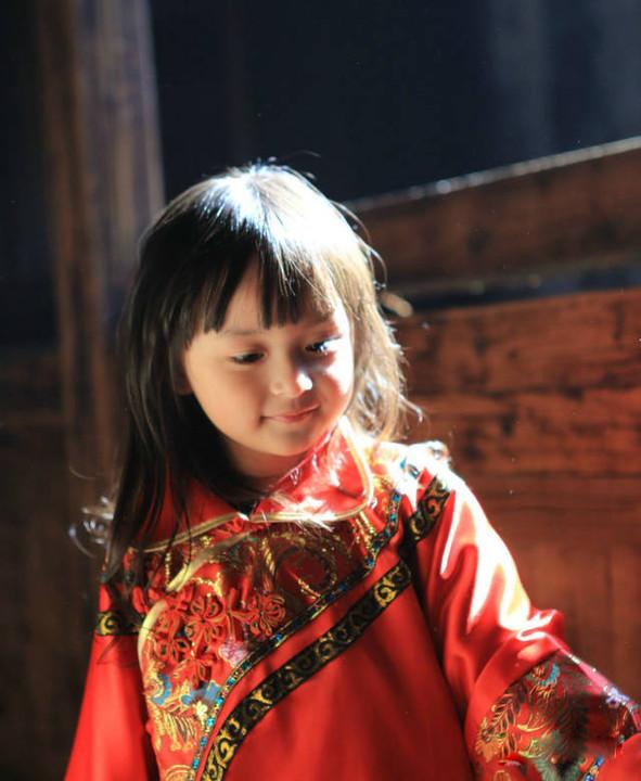 中国最小的美女 5岁!