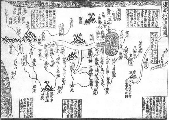 西域古国地图