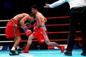 图文:WSB世界拳击联赛刁剑豪晋级 高手对决