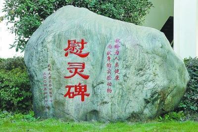 在武汉大学动物实验中心的