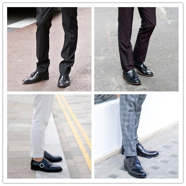 丢掉黑皮鞋 换双彩色皮鞋来搭配