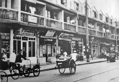 """上海虹口一条被犹太人称为""""小维也纳""""的街道。资料图片"""