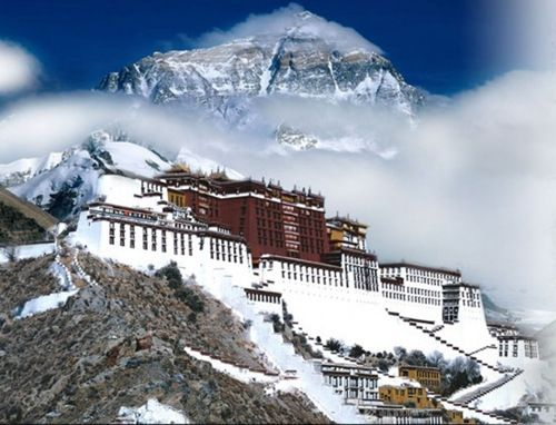 最高海拔―鉴赏冬日西藏的独特味道