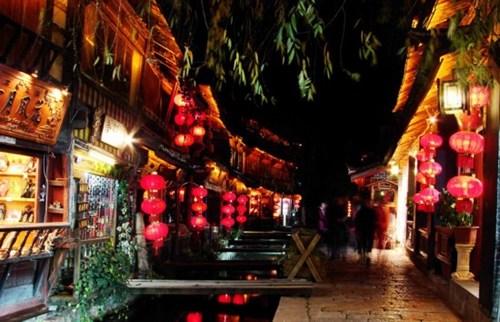 云南丽江 冬季的古镇味道