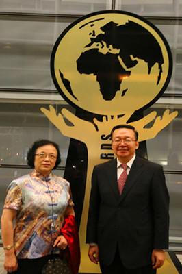 驻南非大使田学军出席南非外交部乌班图奖颁奖典礼
