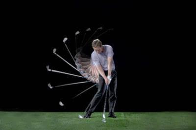 体会高尔夫挥杆的钟摆原理