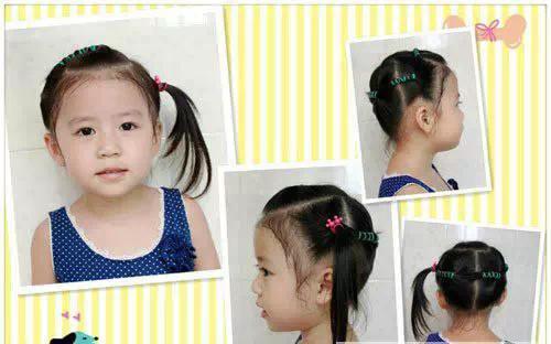 小孩子发型解图图片