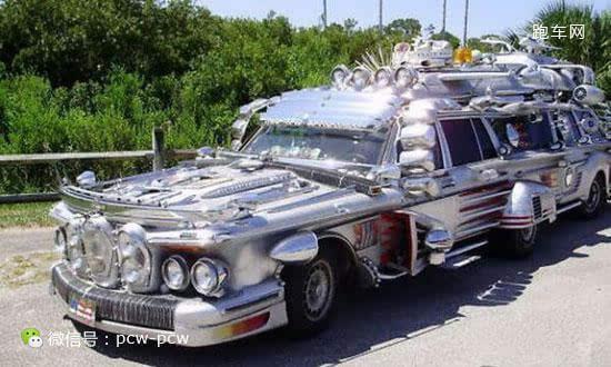上 最艺术 的加长豪华奔驰轿车,历经10年打造