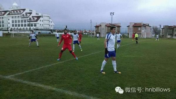 热身-湖南湘涛1-1平哈萨克斯坦球队
