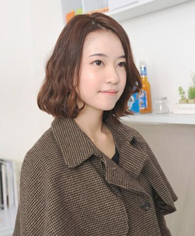 短发蛋卷头好打理吗 短发蛋卷烫发发型图片 发型师姐图片