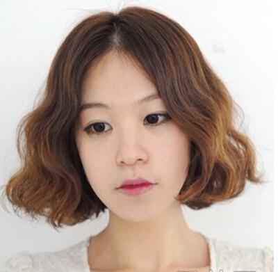 中分蛋卷发型,中长发短发都适合