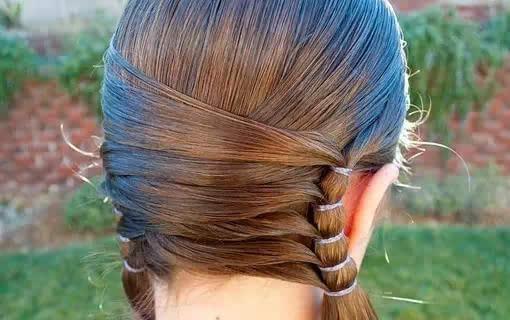 精美儿童编发大全!有女儿就照着这些发型打扮!