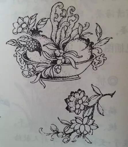 传统文化:寓意丰富的吉祥花卉图案与纹饰图片