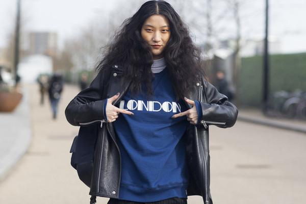2015秋冬伦敦时装周街拍