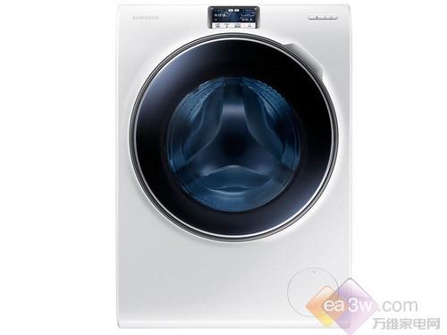 家电产品在极度同质化的时代,三星WW9000洗衣机的时候,就被它与众不同的极简设计风所吸引,其最大的变化莫过去舍去了传统的旋钮式程序选择按钮,取而代之的是一块超大触摸液晶显示屏,全身也仅仅保留了电源和启动两个最常用的物理按键。洗衣机还采用了半透明的深蓝色水晶舱门,配合三星独有的水晶光泽的创造设计,折射光线营造的色彩令人愉快的频谱。