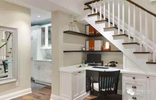 楼梯空间巧设计,复式楼梯就这样玩