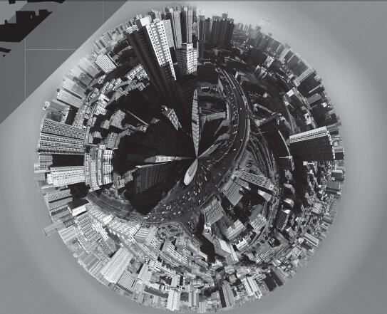 山西省太原市360°全景图片。