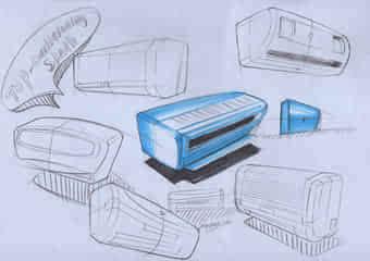 工科类工业设计手绘中的创新