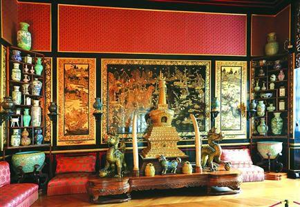 放在宫殿特别是宝座两边的麒麟造图片