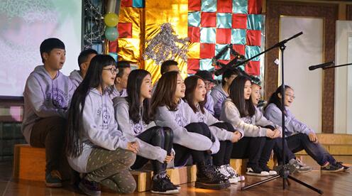 2015年云南师大附中美华高中高中元旦艺术节长沙出钱国际上图片