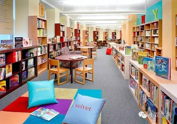 为什么国外孩子读书多?看看他们的图书馆就知道了