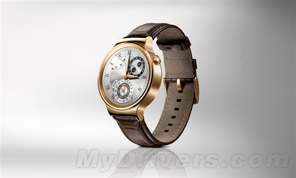 华为智能手表登场:真的很漂亮!